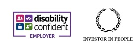 disability confident Employer and Investor in People icons