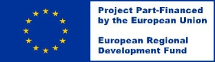 Project part-funded by the European Union European Regional Development fund