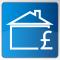 House & £ image