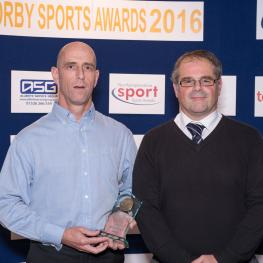 Mark Gray with Gary Sheppard