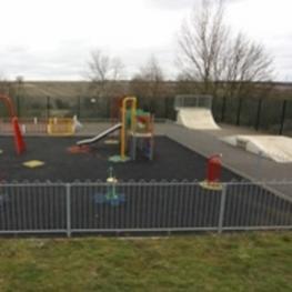 image of Stanion Village Hall Play Area