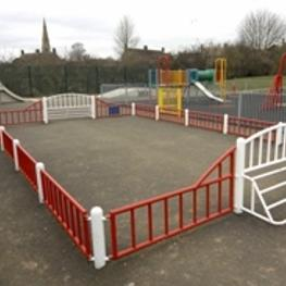 second image of Stanion Village Hall Play Area
