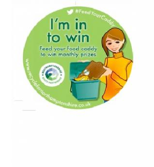 I'm in to win campaign logo