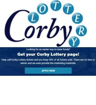 Corby Lottery - Play or sign up as a good cause to raise funds